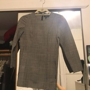 RESERVED Theory wool houndstooth blouse
